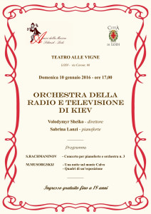 Locandina Orchestra Kiev