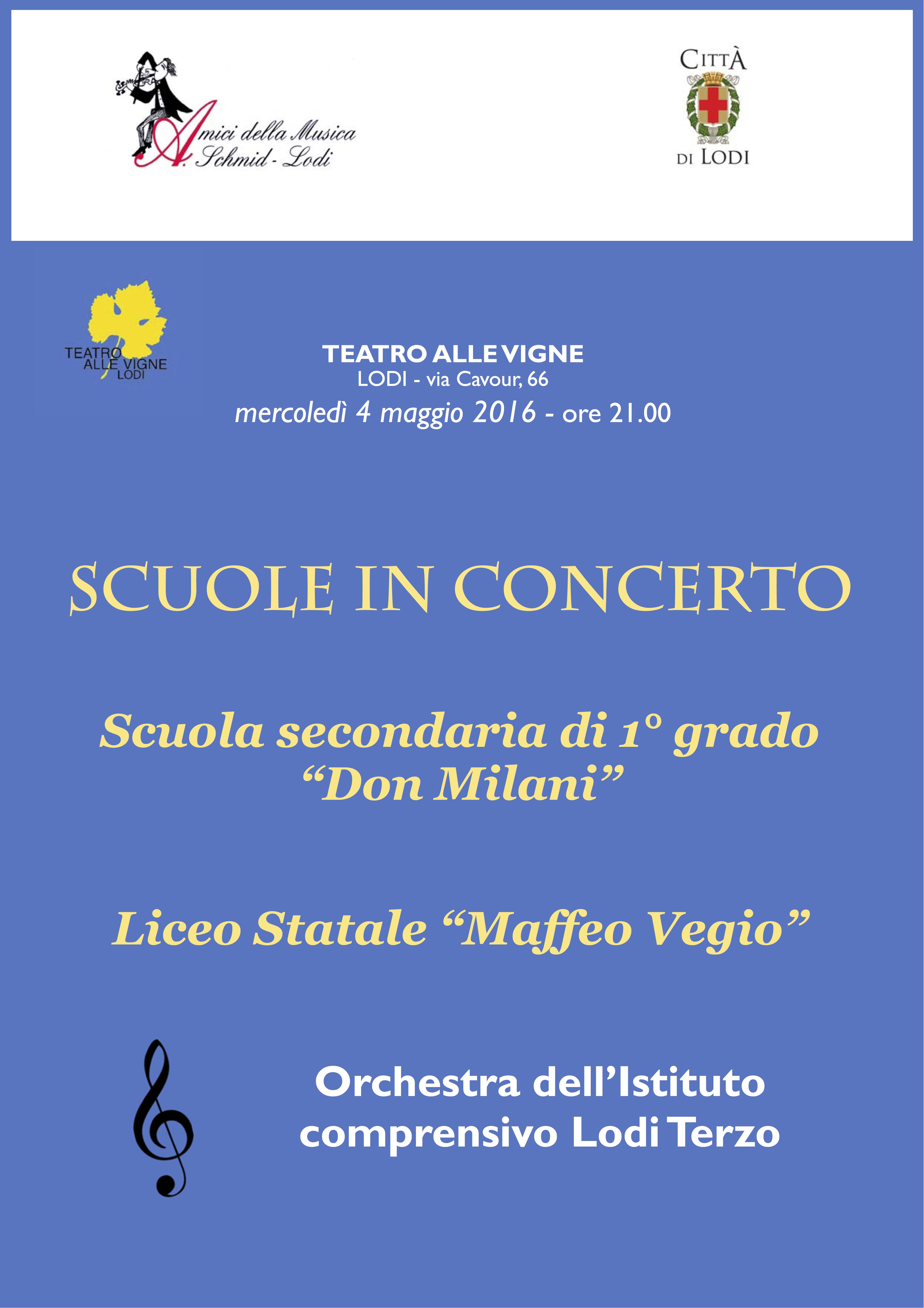 Concerto scuole